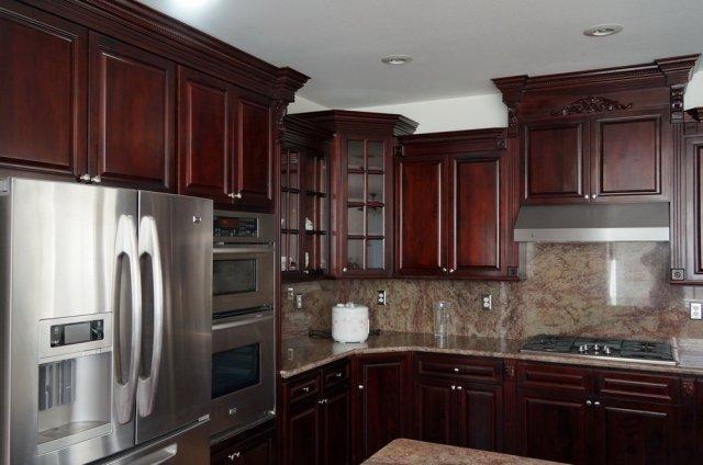 Save Money By Shopping For Dark Cherry Rta Kitchen Cabinets