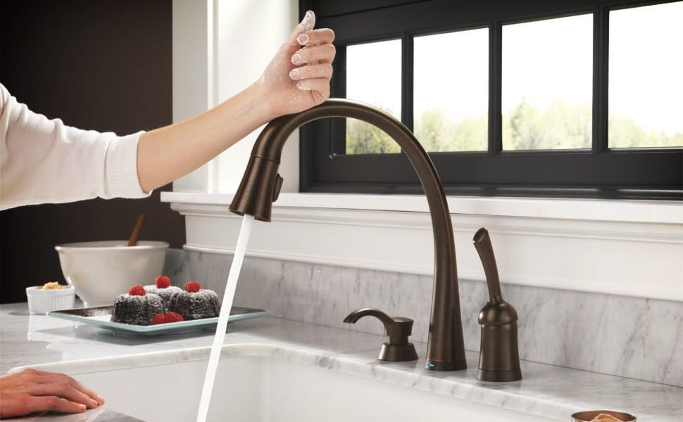 touch faucets