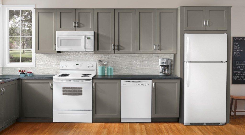 white appliances