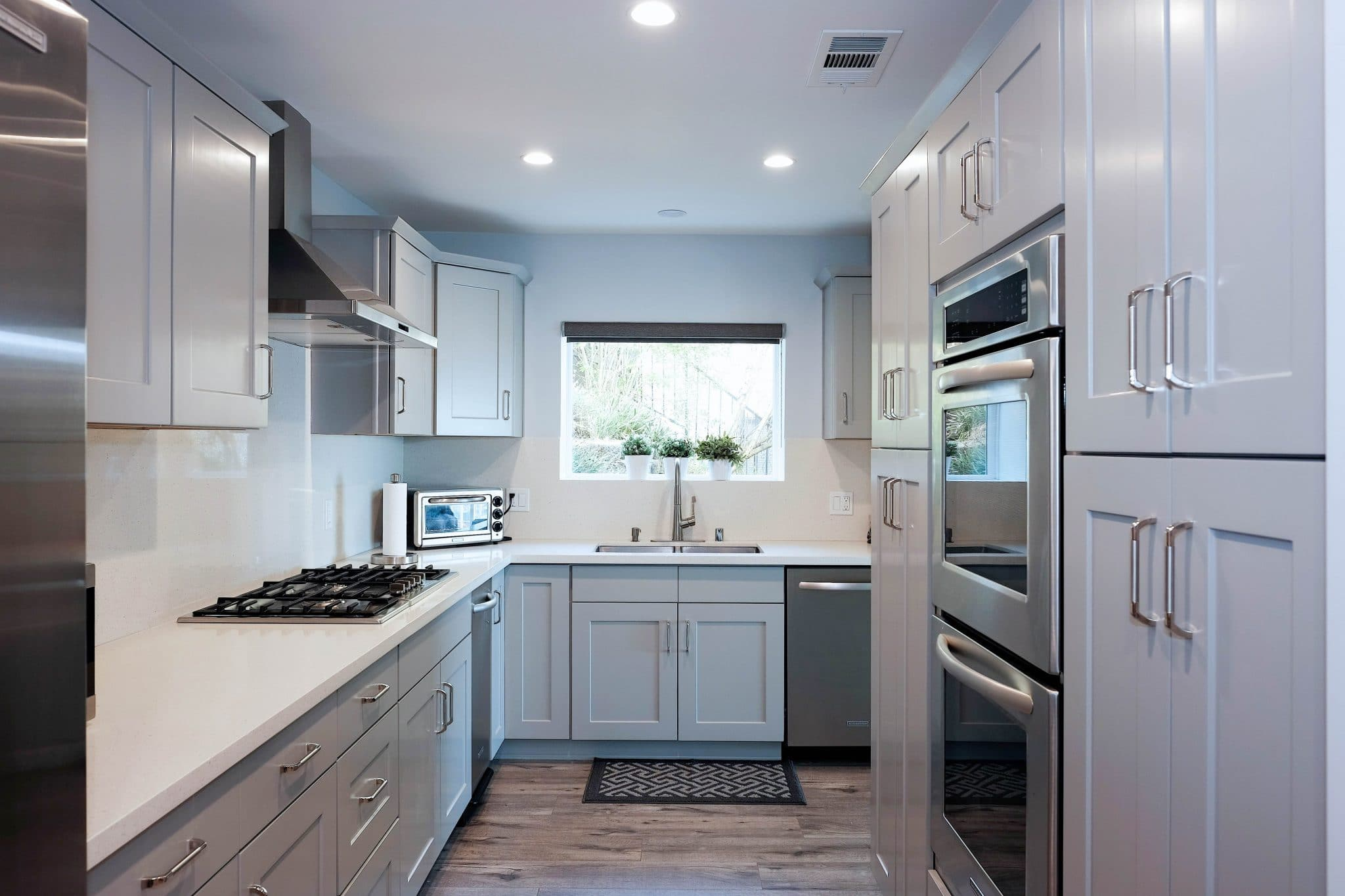 Grey Shaker Cabinets American Style