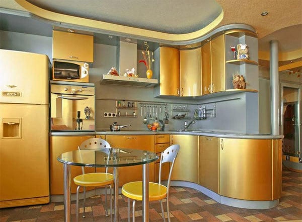 gold-kitchen-cabinets