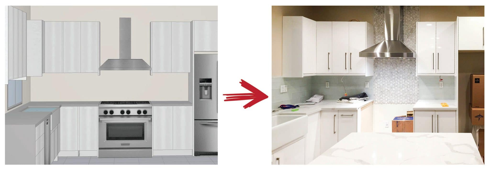 White Gloss Kitchen Cabinets Design How to Design the Dream Kitchen: White Gloss Euro Cabinets