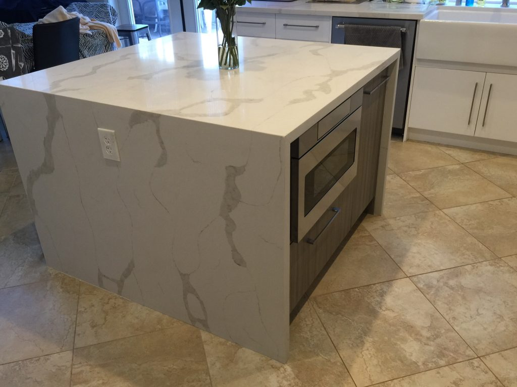 kitchen countertop island