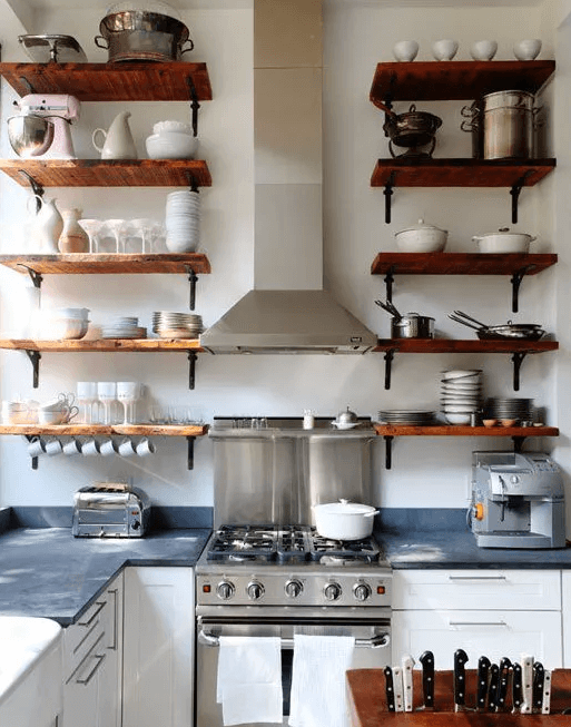 Open Shelving Storage Problems