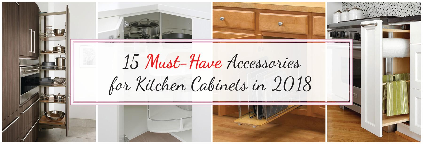 9 Must Have Accessories for Kitchen Cabinets in 9   Best ...