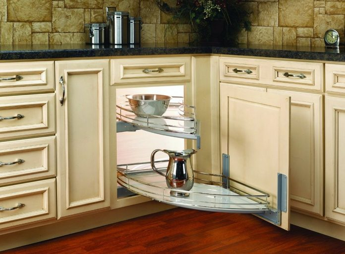 corner-kitchen-cabinet-technology-saving-space