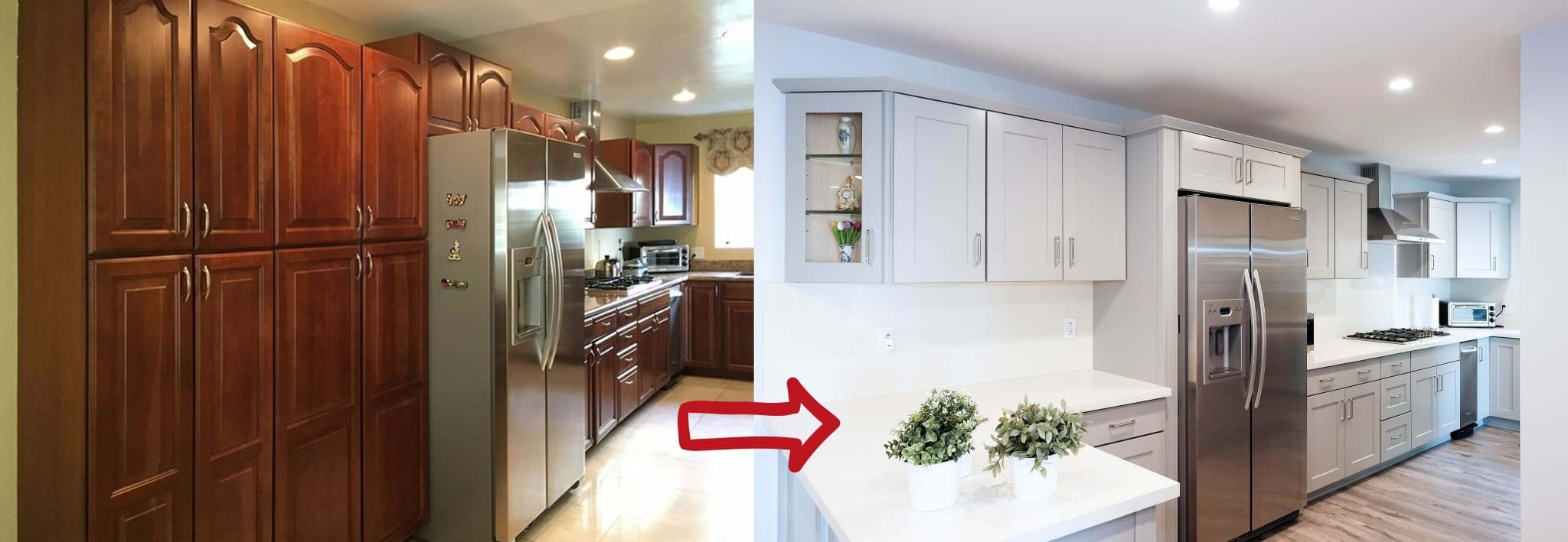 Warmth Neutrality Combined Gray Kitchen Cabinets Best Online Cabinets