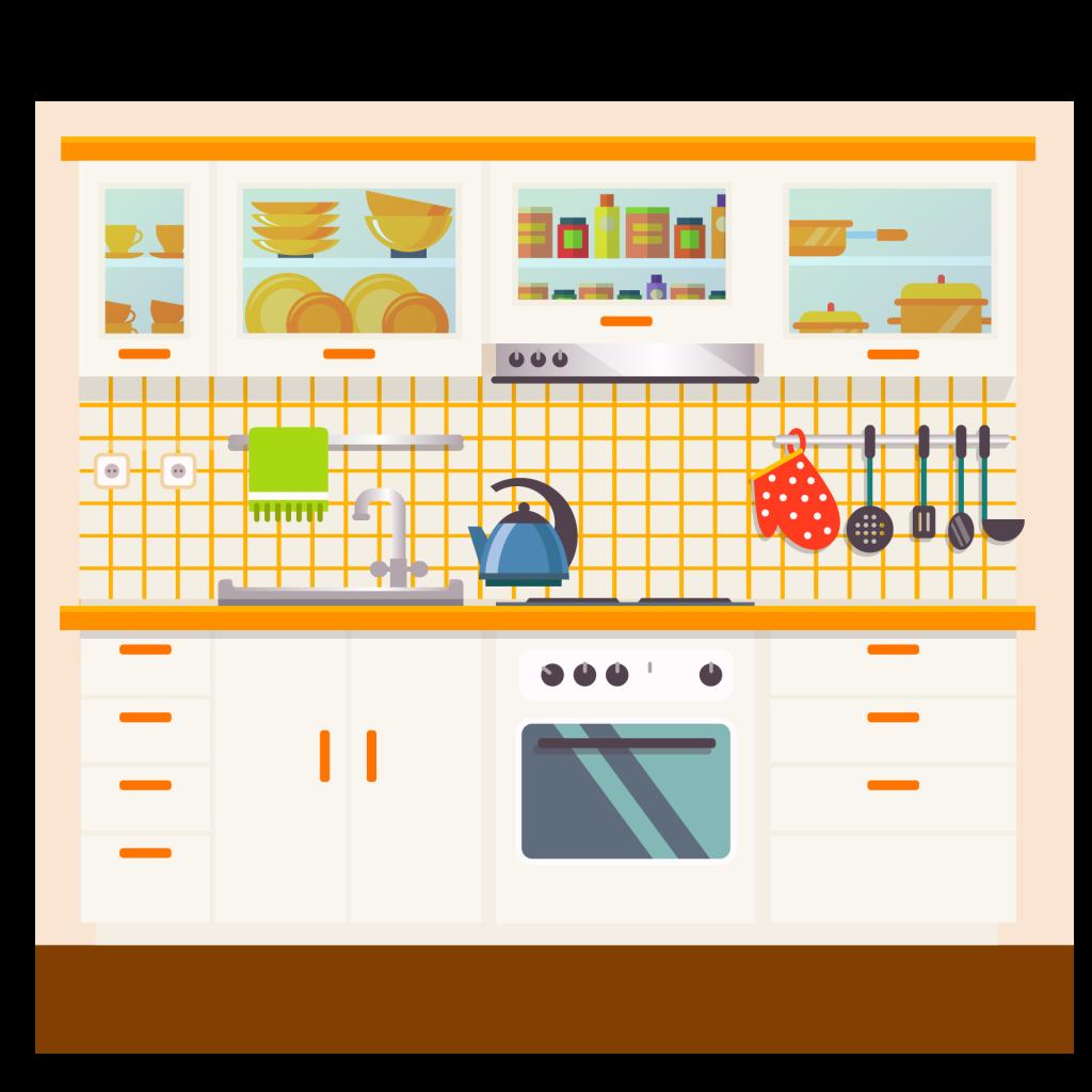 white kitchen cabinet idea - glass door