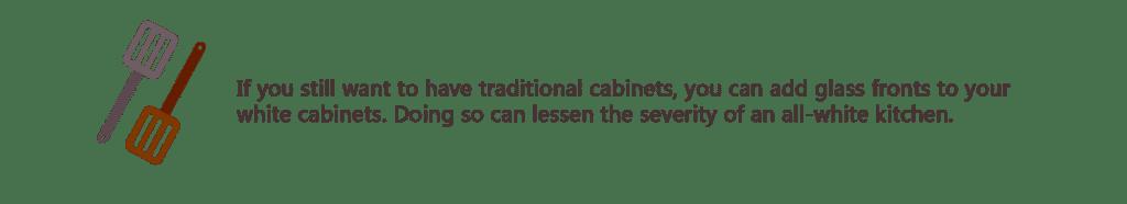 white kitchen cabinet idea - tips