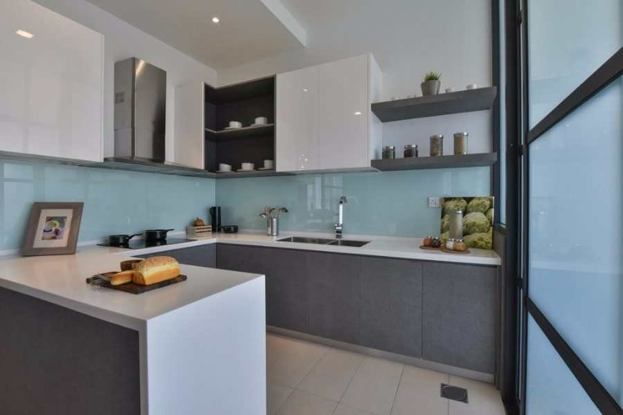 Terrace house in Kajang East Wet Kitchen from recommend.my Best Online Cabinets california