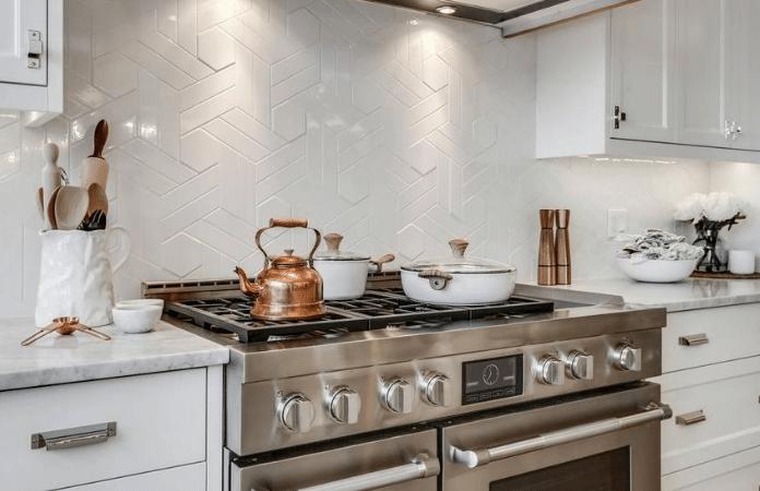 Farmhouse Kitchen With Vintage Elements