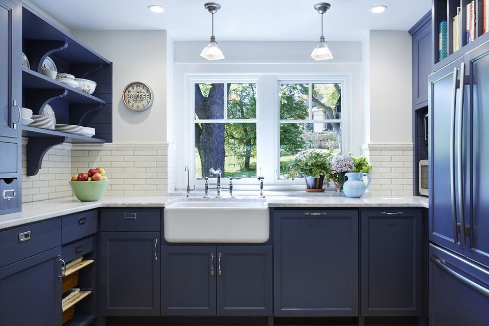 10 most popular styles and colors for shaker kitchen