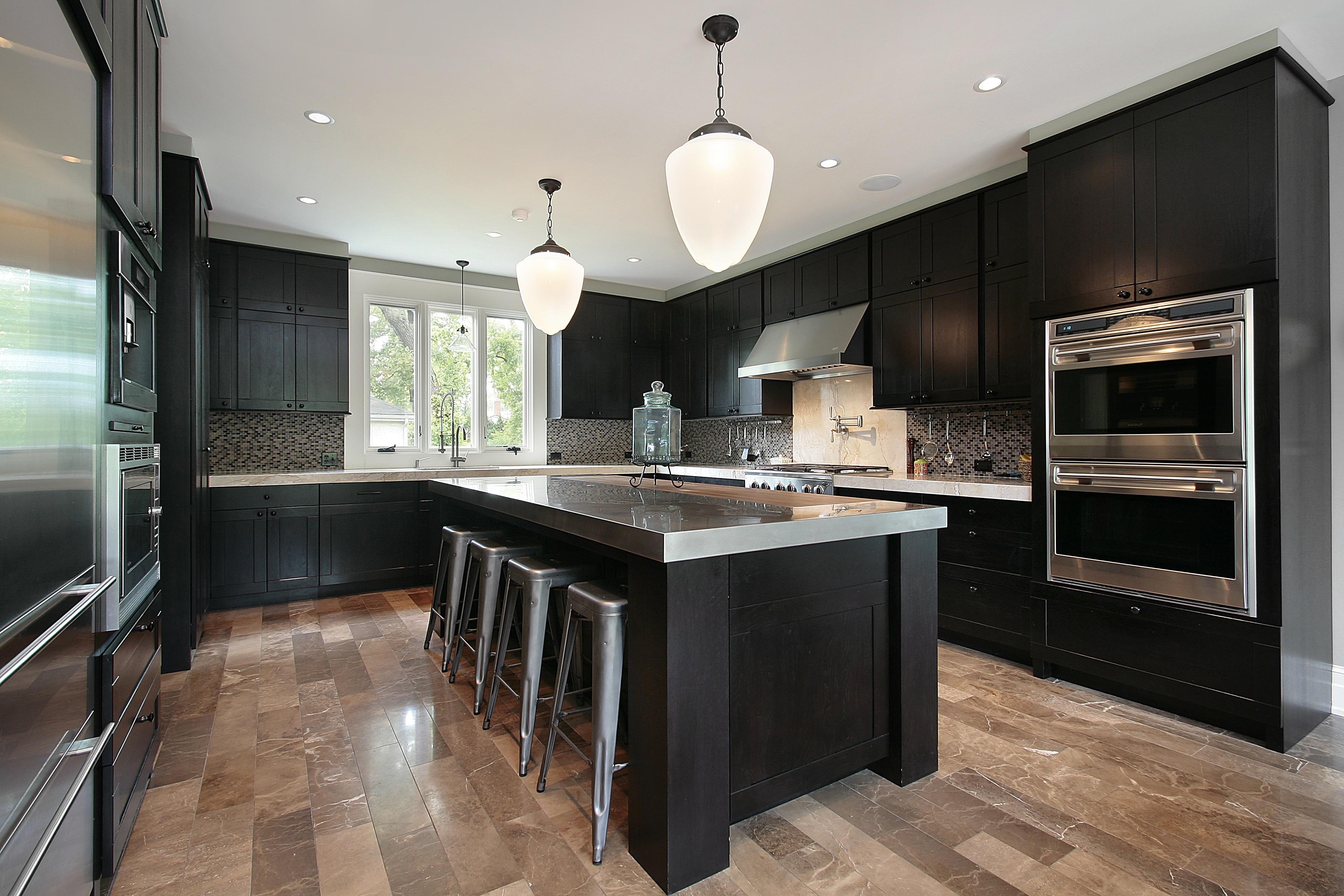 Design Ideas With Dark Shaker Kitchen Cabinets Best Online Cabinets