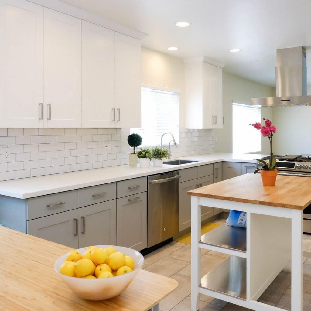 forever kitchen shaker cabinet
