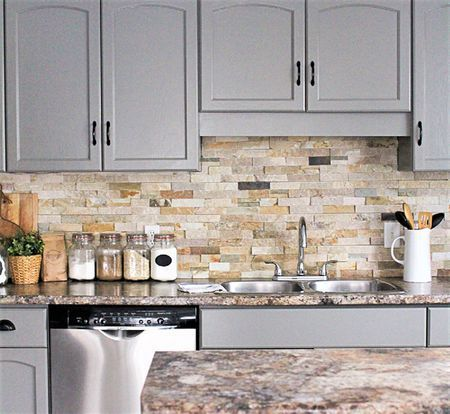 Grey Shaker Backsplash And Countertop Ideas For Your Ideal Kitchen Best Online Cabinets