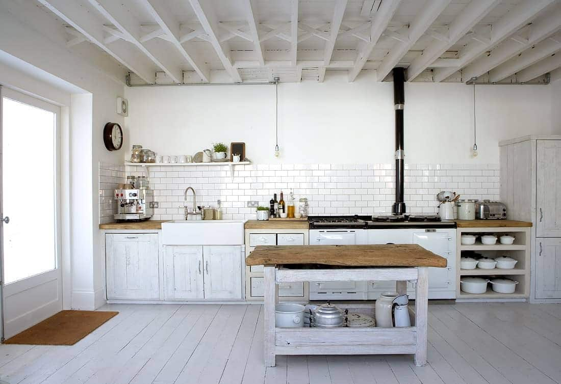 Image of: Best Rustic White Kitchen Ideas For 2020 Best Online Cabinets