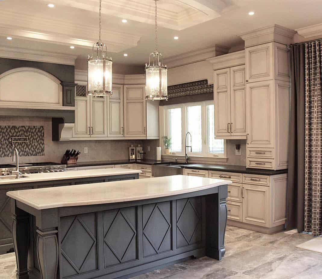 Best Antique White Kitchen Ideas for 9   Best Online Cabinets
