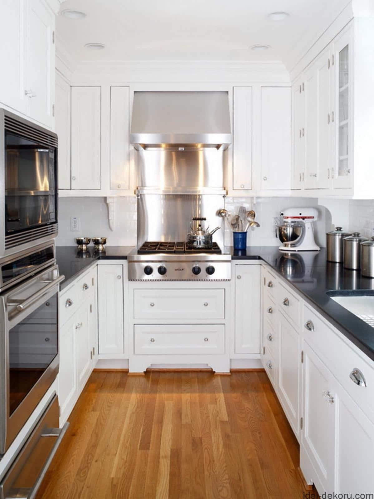 Best Small White Kitchen Design Ideas for 20   Best Online Cabinets