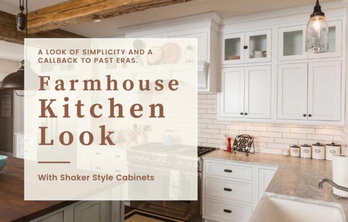 Farmhouse Kitchen Look
