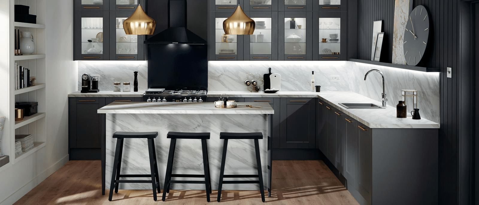 Best Black And Grey Kitchen Ideas For 2020 Online Cabinets