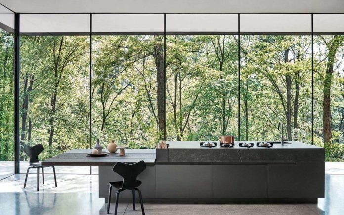 biophilic kitchen