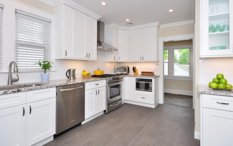 Designing Kitchens With Modern White Shaker Cabinets Best Online
