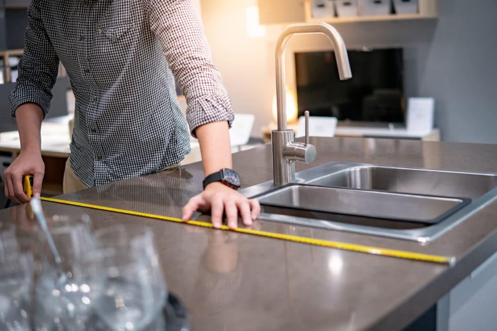 kitchen countertop measurement