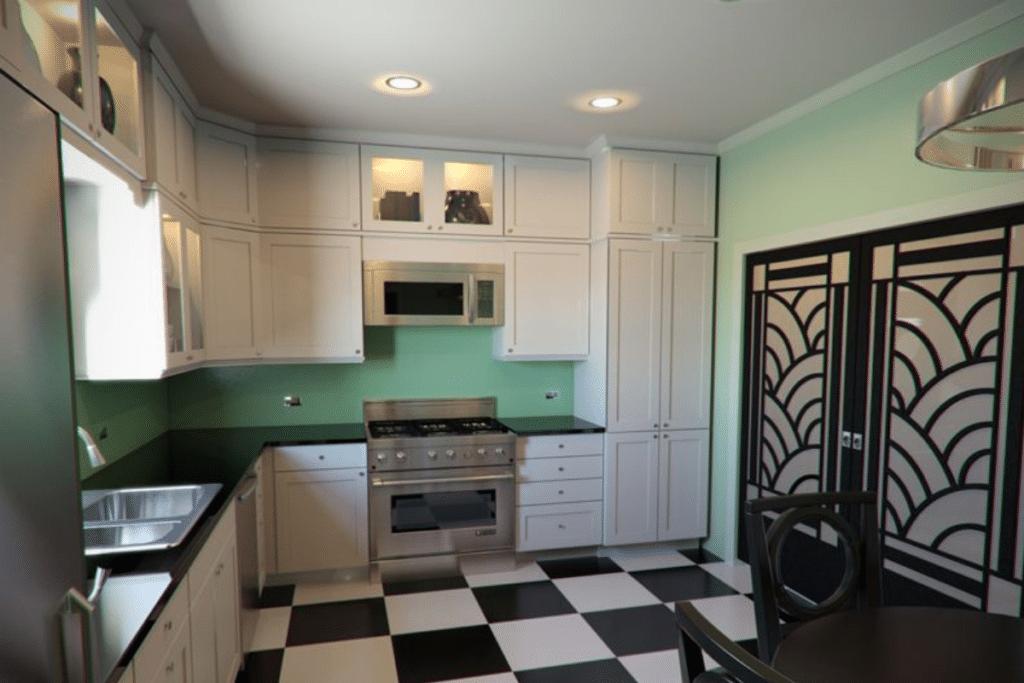 art deco kitchen