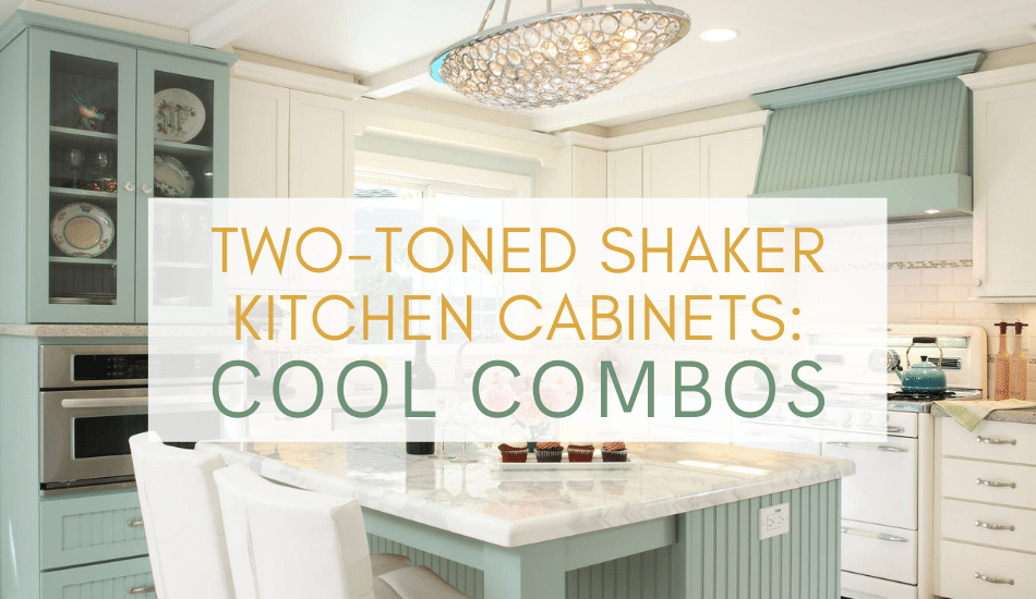 Two Toned Shaker Kitchen Cabinets To Mix And Match For Your Home Best Online Cabinets
