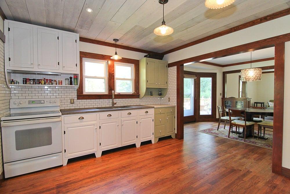 craftsman style kitchen