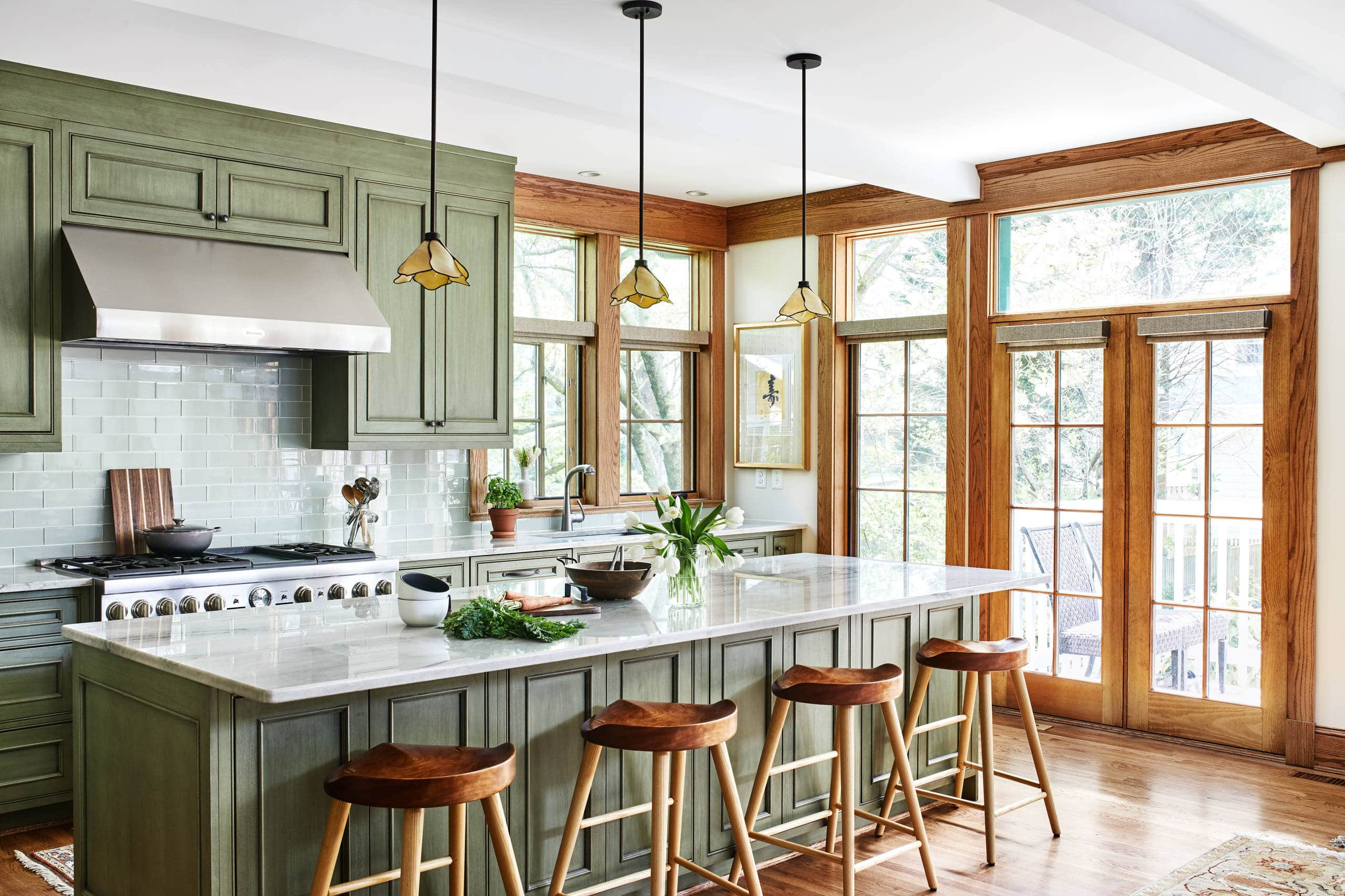 Organic And Functional The Craftsman Style Kitchen Best Online Cabinets