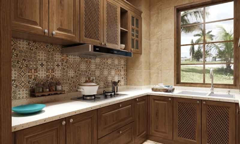 asian-style kitchen